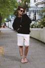 Topshop-shorts-mango-sunglasses-cos-top-dolce-gabbana-sandals