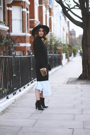 COS dress - cashmere Citizen Cashmere dress - Lauren Scott boots - H&M hat