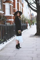 COS dress - cashmere Citizen Cashmere dress - Lauren Scott boots - H&M hat