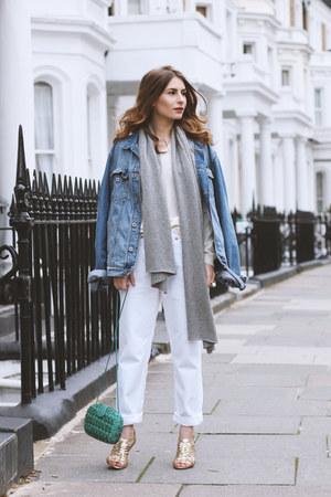 cashmere Citizen Cashmere sweater - Levis jeans