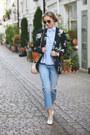 Ivory-leather-zara-shoes-sky-blue-embroidered-zara-jeans