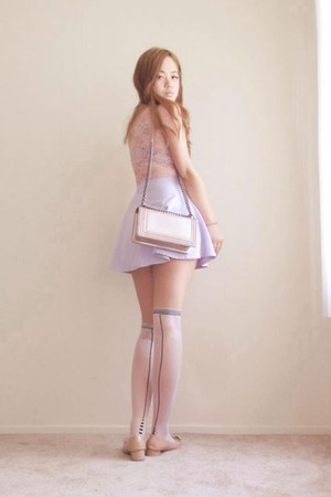 light pink boy chanel Chanel bag - light pink Salvatore Ferragamo shoes
