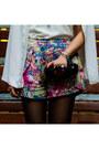 Hot-pink-sugarlips-shorts-white-chiffon-wholesale7-cape