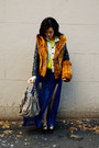 Vintage-ferragamo-shoes-neon-knit-forever21-sweater