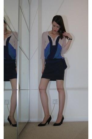 Lucy & Co High Road Shop dress - La Senza intimate - Zara heels