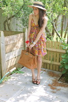 D&G dress - birkin Hermes bag - D&G wedges