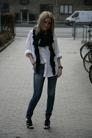 All Saints scarf - LAMB shoes