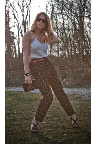 Chanel bag - Marni for H&M pants - Anthropologie belt - vintage top