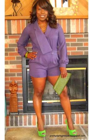 Akira romper - bcbgeneration BCBG dress - high-low Forever 21 dress