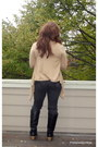 Charlotte-russe-boots-old-navy-jeans-h-m-scarf-forever-21-t-shirt