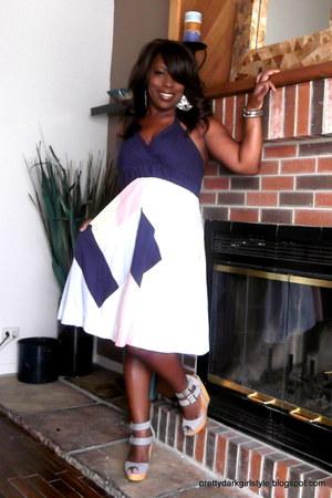 navy Crossroads Trading dress - periwinkle CRT dress