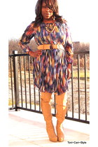 multicolor Macys dress