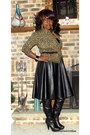 Faux-leather-choiescom-skirt