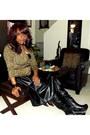Faux-leather-choiescom-skirt