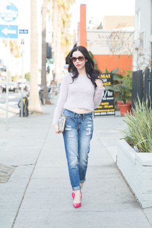 periwinkle abercrombie and fitch sweater - blue abercrombie and fitch jeans