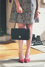 Black-alice-olivia-dress-camel-burberry-coat-black-chanel-bag