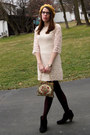 Ivory-h-m-dress-black-target-boots-gold-modcloth-hat-crimson-target-tights