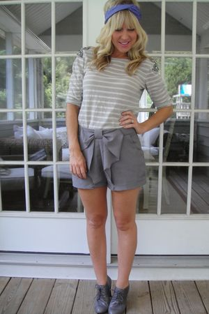 ellison shirt - Hallelu shorts - Steve Madden shoes