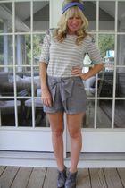 ellison shirt - Hallelu shorts - Steve Madden shoes