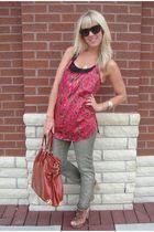 Hallelu jeans - Collective Clothing top - Aldo shoes - Hallelu purse - vintage a