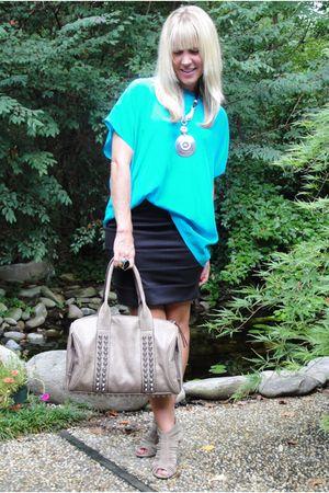 Whitley Kros blouse - Hallelu bag - Hallelu skirt
