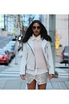 MIKKAT MARKET skirt - MIKKAT MARKET jacket - asos shirt - Dolce Vita flats