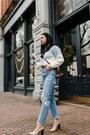 Agolde-jeans-asos-sweater-via-spiga-heels
