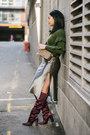 Zara-boots-j-crew-sweater-marc-jacobs-bag-emerson-thorpe-skirt
