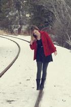 cotton dress - jacket