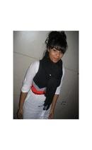 scarf - shirt - vest