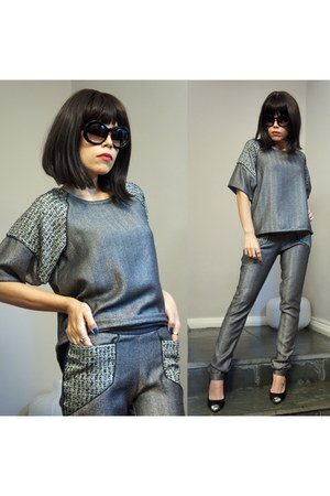 gray Jardin shirt