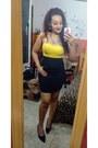 Yellow-blouse-yellow-blouse-blouse-black-skirt-yellow-skirt