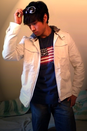 united colors of benetton jacket - Ralph Lauren shirt - Vigoss jeans