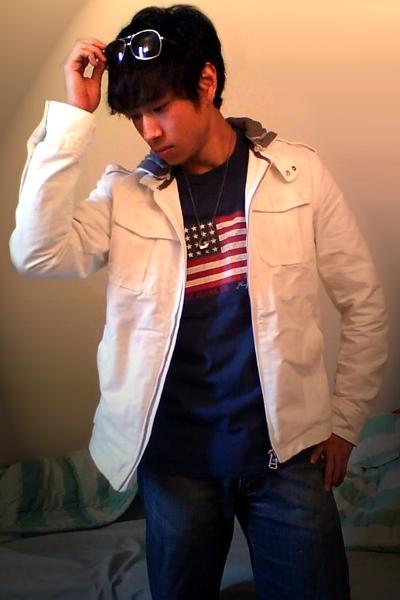united colors of benetton jacket - Ralph Lauren shirt - Vigoss jeans