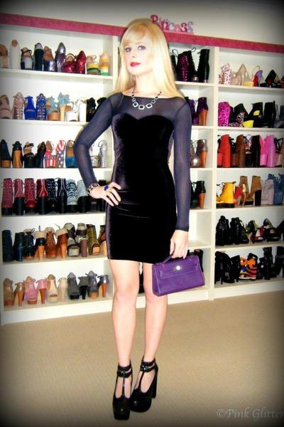 Black Velvet Sheer Black Milk Dresses, Purple Mini Kelly Hermes ...