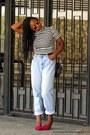 Boyfriend-jeans-thrifted-vintage-jeans-choies-shirt-choies-glasses
