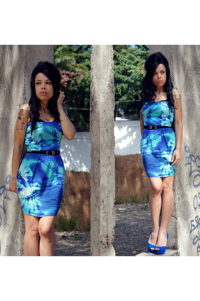 blue shop126 dress