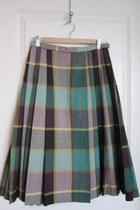 tartan Promise To Repeat skirt