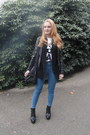 Black-asos-shoes-blue-high-waisted-pull-bear-jeans