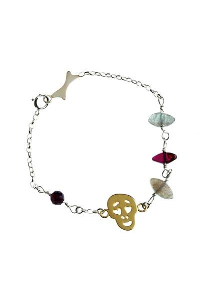 Krouk Madame on Puloma bracelet