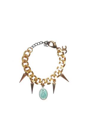 Justine Clenquet on Puloma bracelet