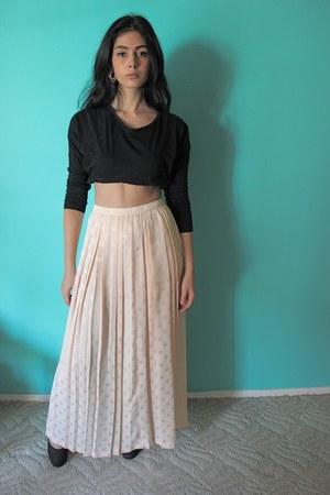 maxi skirt vintage skirt