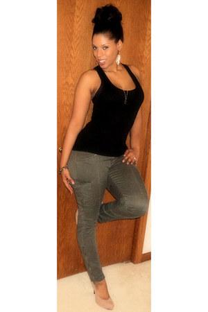 Forever21 shirt - Charlotte Russe pants - Expresss belt - forever21 and charlott