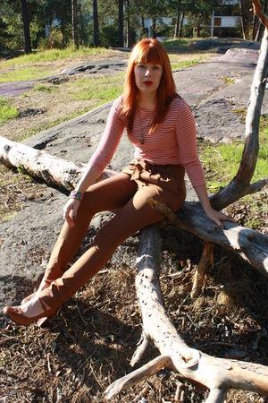 brown Vero Moda pants