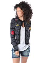 CHANEL CARDIGAN WITH MULTI PATCH