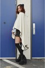 Poncho-q2han-coat-sweater-tobi-sweater-skort-tobi-shorts