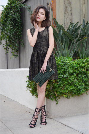 skater dress Q2HAN dress - clutch Streetlevelbags bag