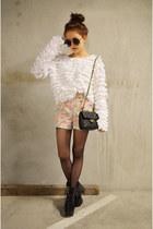 Q2HAN sweater - mini handbag baghaus bag