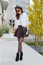 Black-clutch-poppily-bag-skater-skirt-q2han-skirt