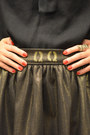 Q2han-skirt-boots-aldo-boots-black-blouse-zara-blouse